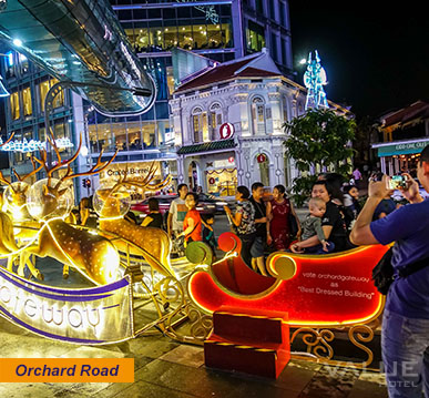 Christmas Light-Up at Orchard Road | Value Hotel