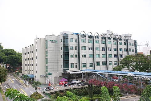 Thomson Medical Centre - 190 bed private hospital located at Thomson Road in Singapore. The hospital specialises in gynaecology and in vitro fertilisation